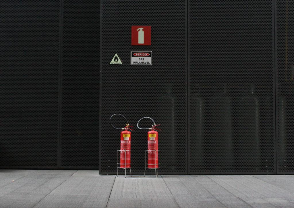 opslag gasflessen
